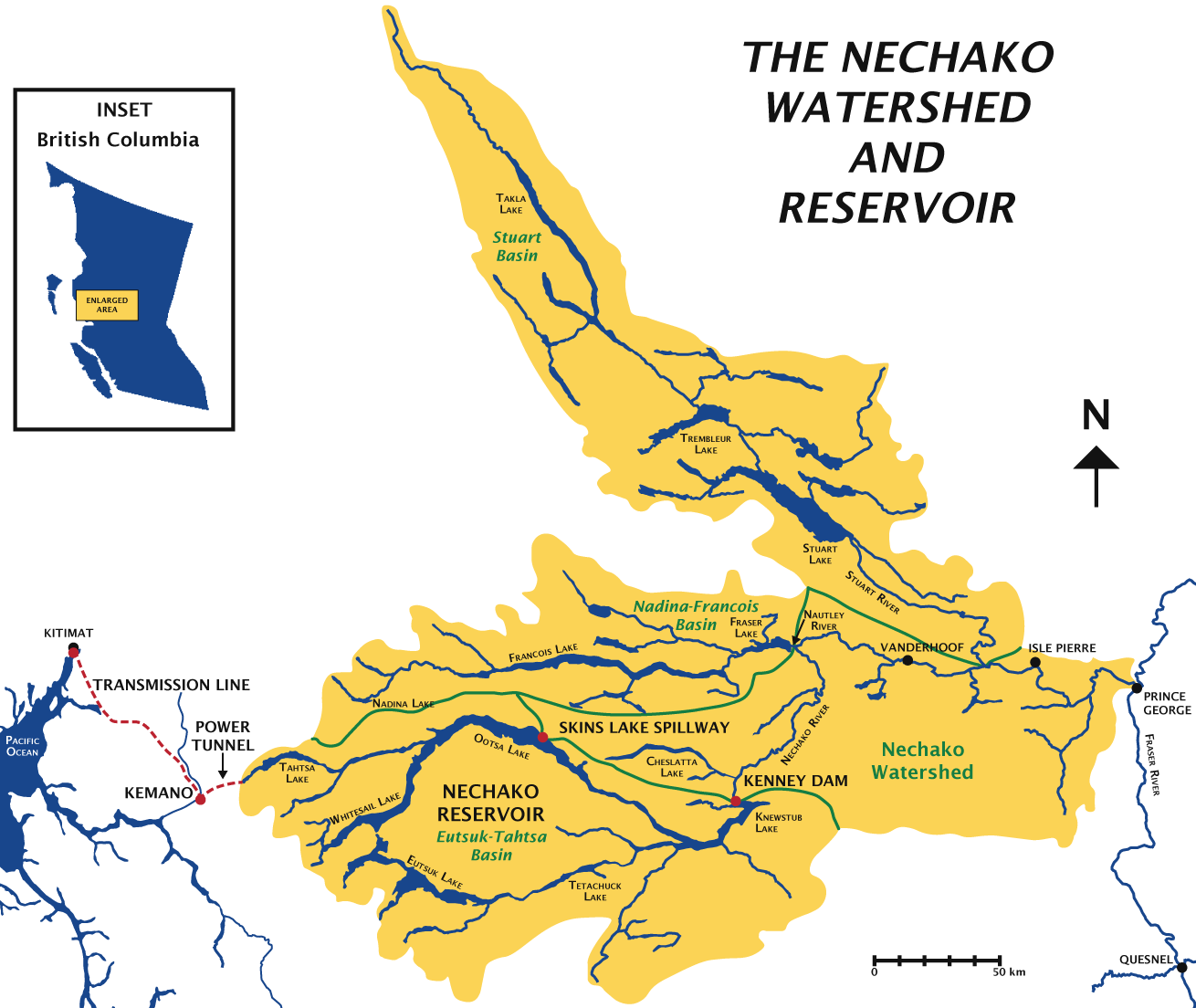 Nechako Reservoir and Watershed